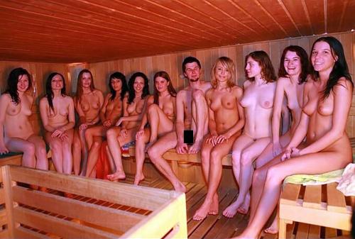【画像】フィンランドの混浴サウナ、エ●チすぎるwww