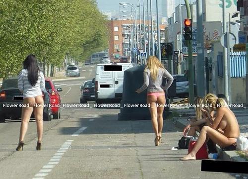 【画像】売春婦さん、本気だす