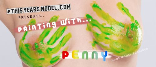 Penny Kate - PENNY GETS PAINTED