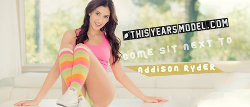 Addison Ryder - ADDSION RYDER WEARS HER SOCKS IN THE KITCH
