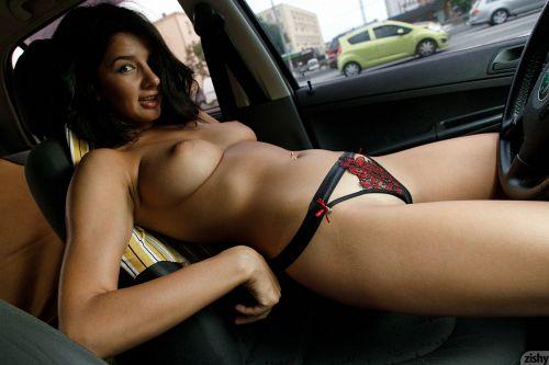 Nadia Serbinenko - DRIVES A SKODA 09