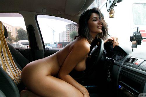 Nadia Serbinenko - DRIVES A SKODA 18