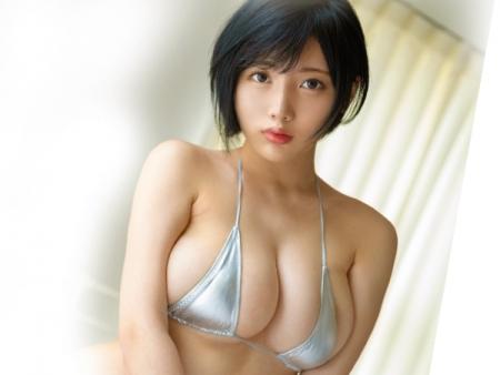 【安位薫】Hカップ美巨乳アイドルがMUTEKIでAVデビュー♪次世代のグラドル恵体ランキングNo.1の美少女w【芸能人】