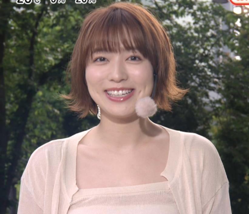 阿部華也子 ヌーディでエロい色の衣装キャプ・エロ画像2
