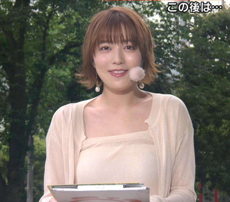 阿部華也子 ヌーディでエロい色の衣装キャプ・エロ画像3