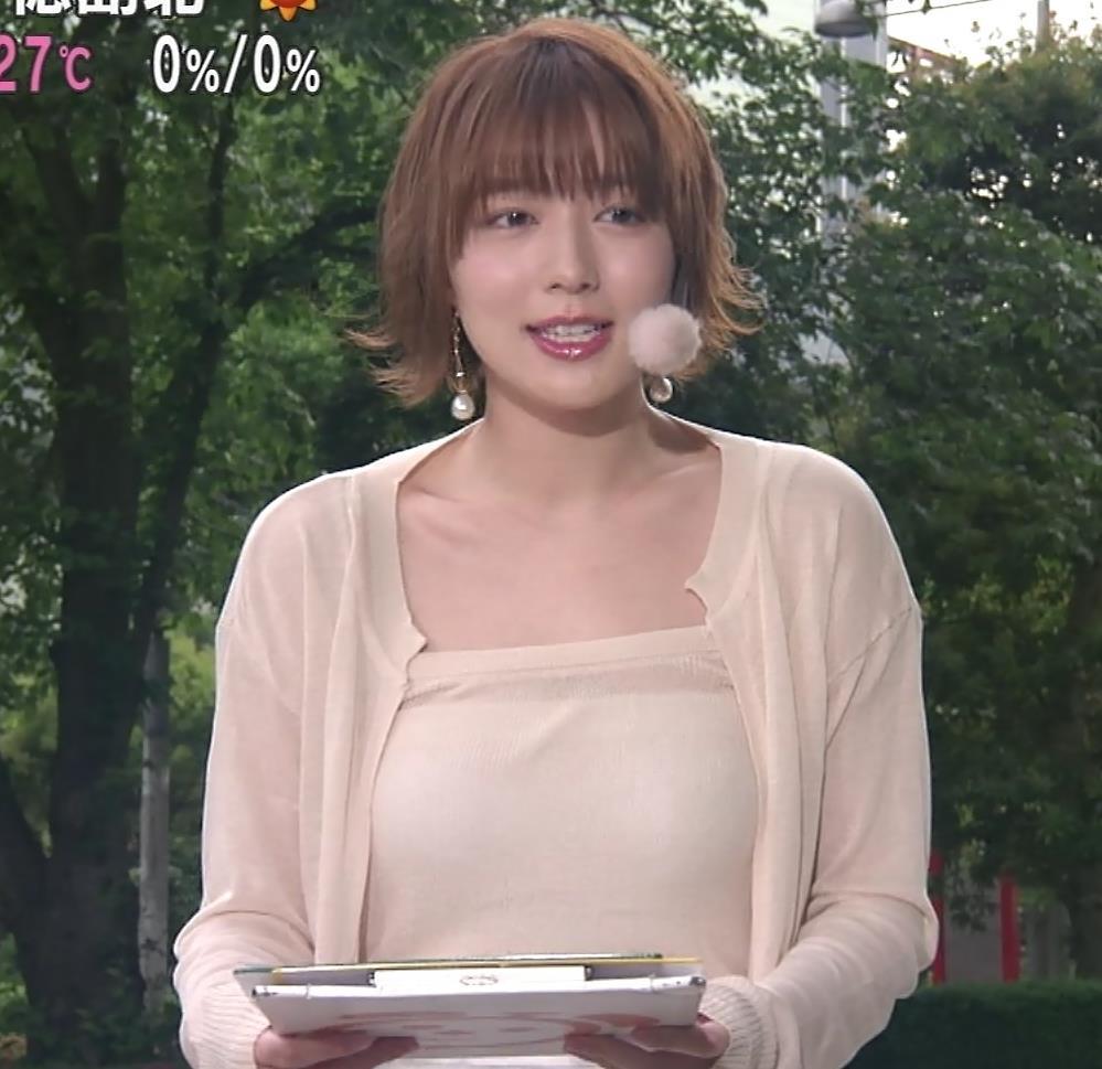 阿部華也子 ヌーディでエロい色の衣装キャプ・エロ画像4