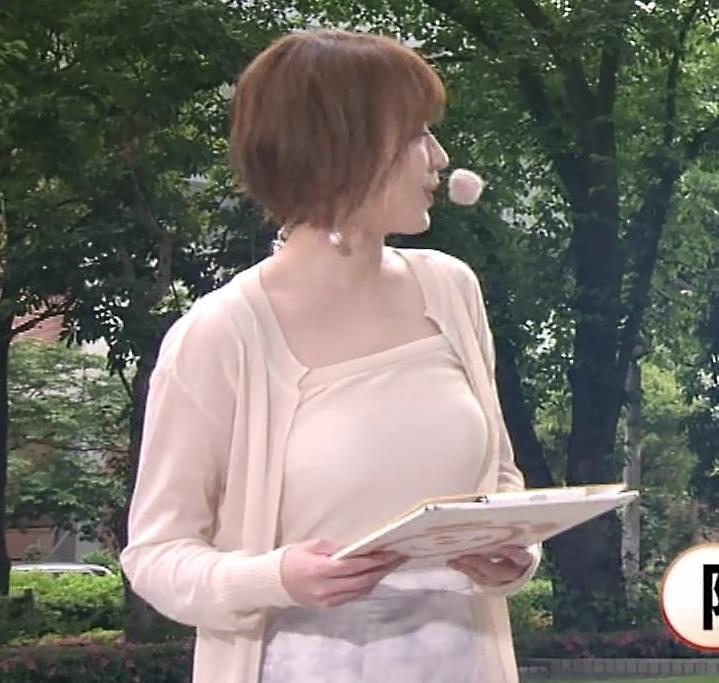阿部華也子 ヌーディでエロい色の衣装キャプ・エロ画像5