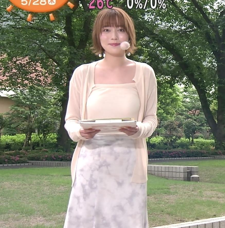 阿部華也子 ヌーディでエロい色の衣装キャプ・エロ画像6