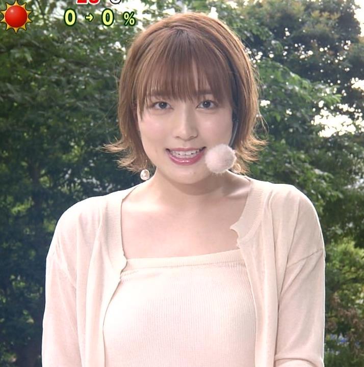 阿部華也子 ヌーディでエロい色の衣装キャプ・エロ画像10