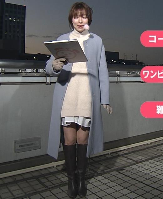 阿部華也子 寒くてもミニスカートキャプ・エロ画像3