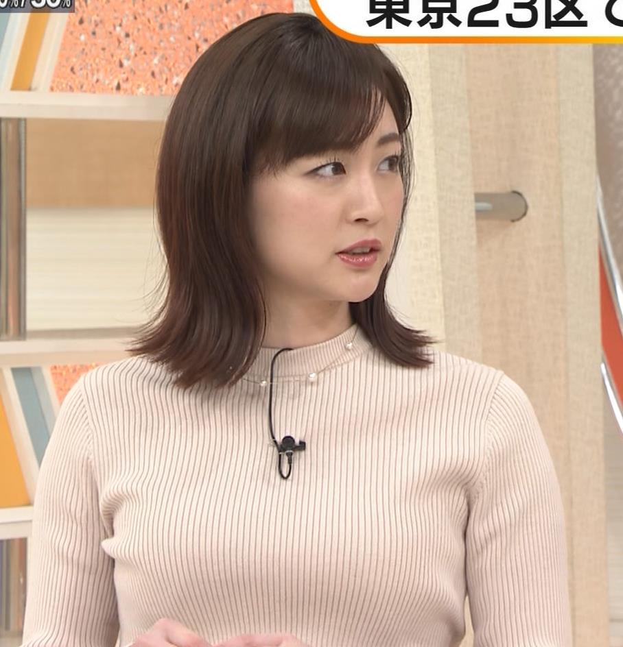 新井恵理那 ニットおっぱいキャプ・エロ画像