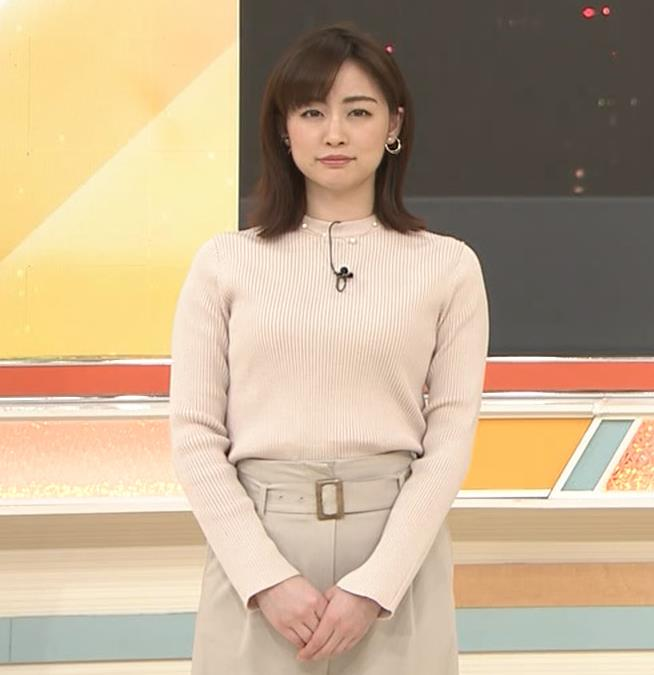 新井恵理那 ニットおっぱいキャプ・エロ画像2