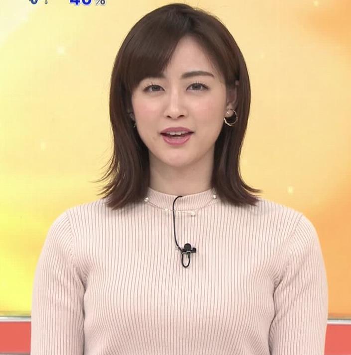新井恵理那 ニットおっぱいキャプ・エロ画像6