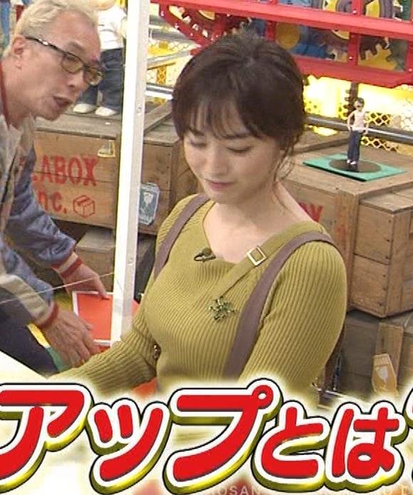 新井恵理那 ニットおっぱいキャプ・エロ画像18
