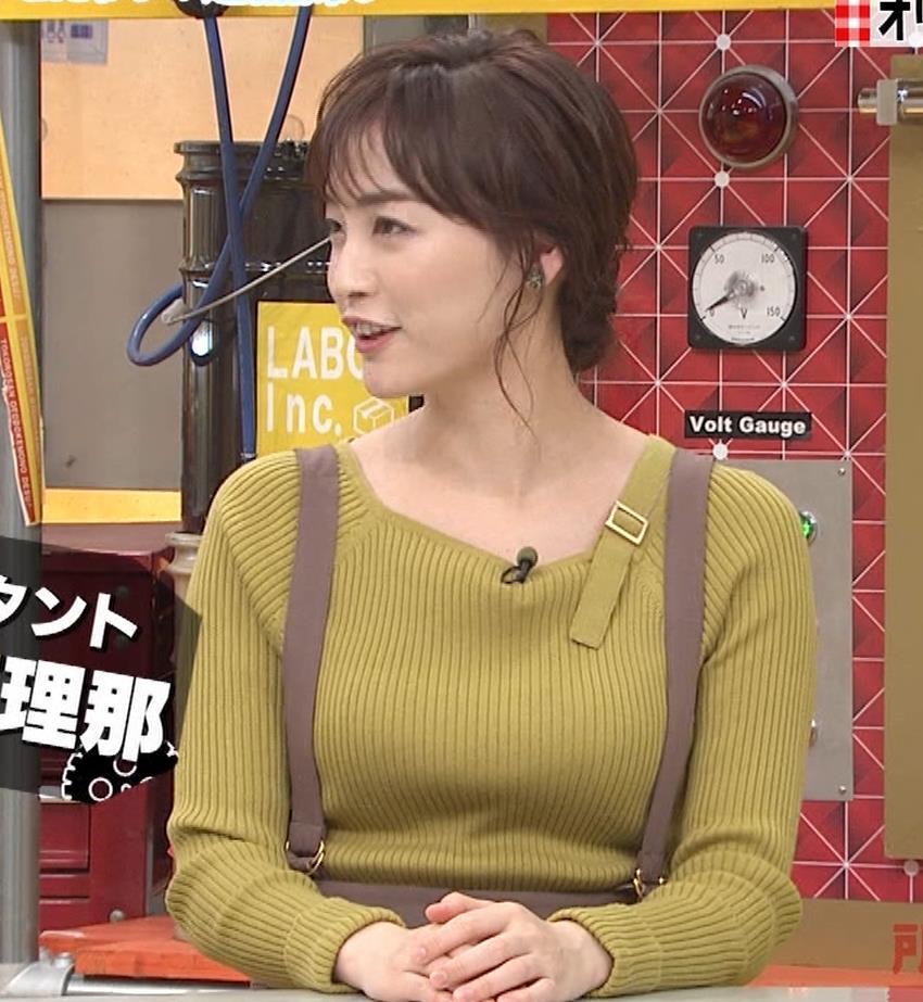 新井恵理那 ニットおっぱいキャプ・エロ画像5