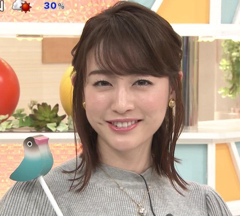 新井恵理那 エロいおっぱいとタイトなスカートな腰回りキャプ・エロ画像8
