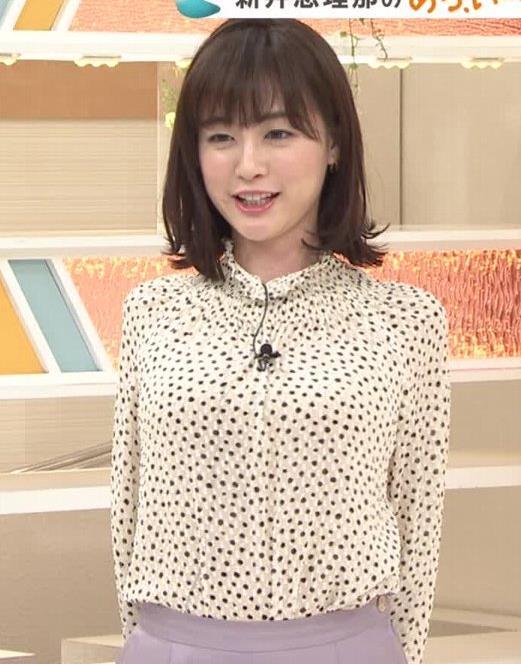新井恵理那 胸を張っておっぱいが際立つキャプ・エロ画像5