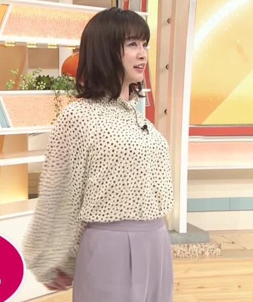 新井恵理那 胸を張っておっぱいが際立つキャプ・エロ画像6