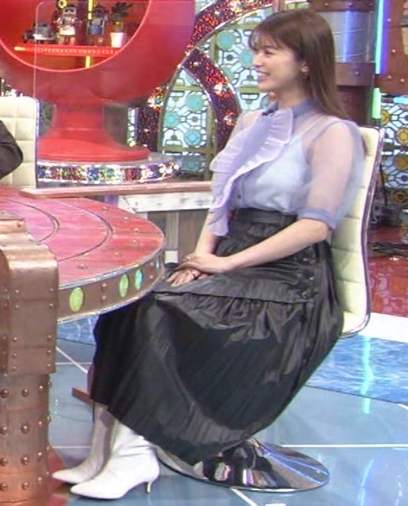 馬場ふみか 透け透けなエロ衣装キャプ・エロ画像