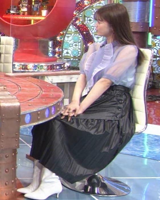 馬場ふみか 透け透けなエロ衣装キャプ・エロ画像5