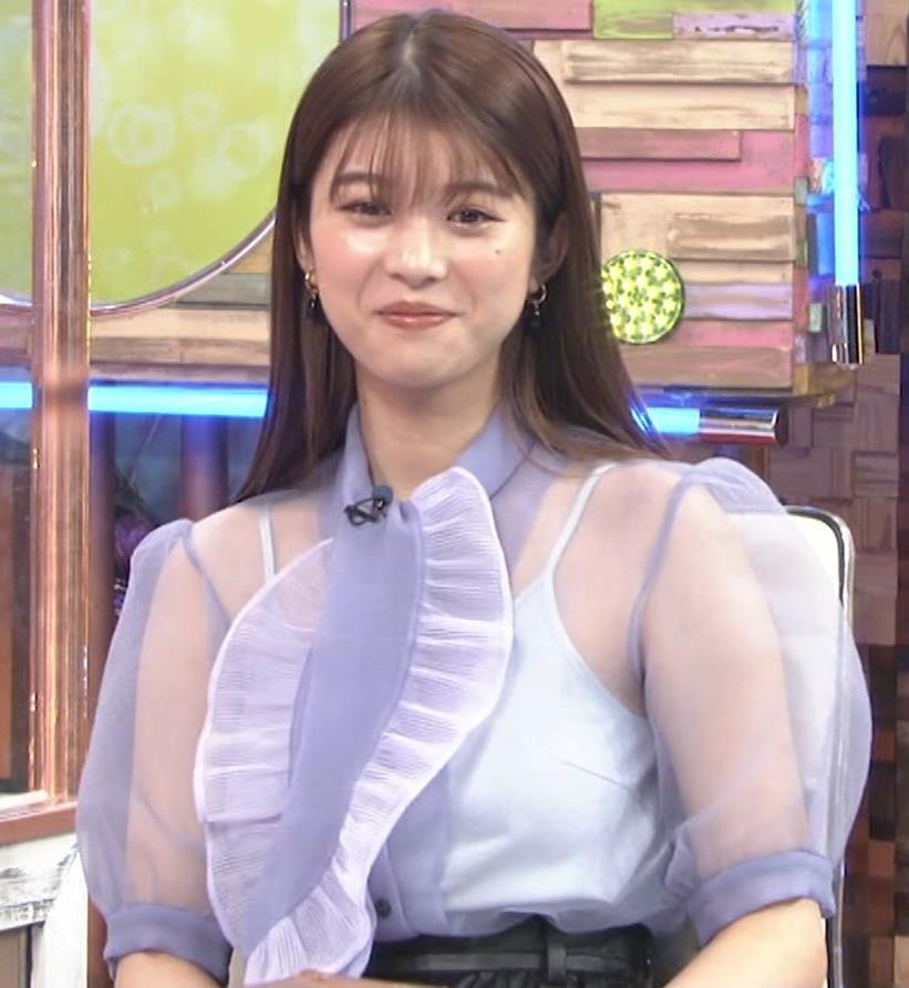 馬場ふみか 透け透けなエロ衣装キャプ・エロ画像9