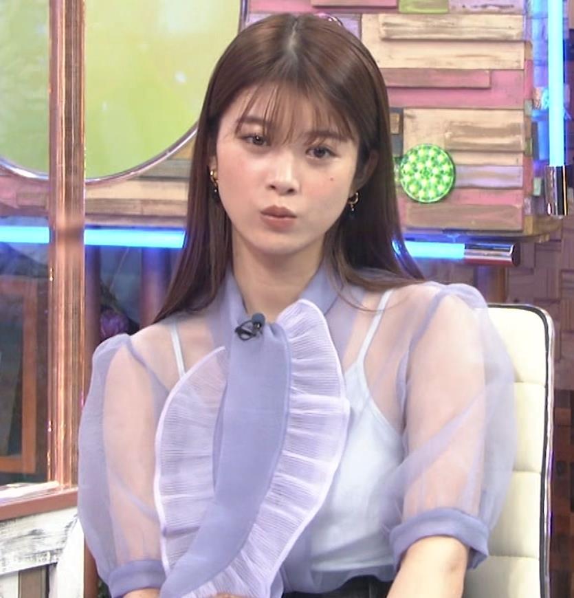 馬場ふみか 透け透けなエロ衣装キャプ・エロ画像10