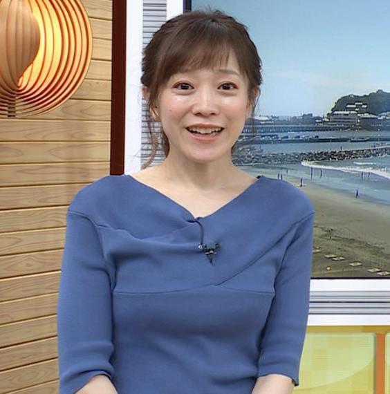 江藤愛アナ 横乳キャプ・エロ画像6
