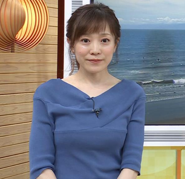 江藤愛アナ 横乳キャプ・エロ画像7