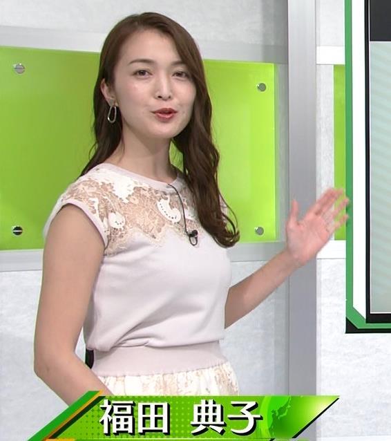 福田典子アナ レースの透け衣装キャプ・エロ画像6