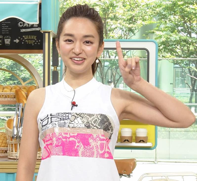 後藤晴菜アナ ヨガでエロいスパッツの股間キャプ・エロ画像