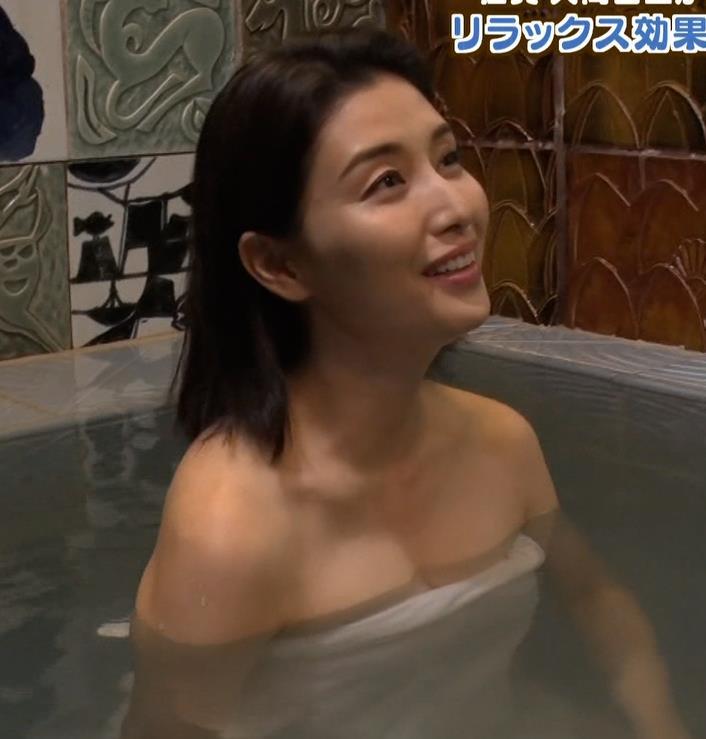 橋本マナミ 地上波での入浴シーンがエロいキャプ・エロ画像4