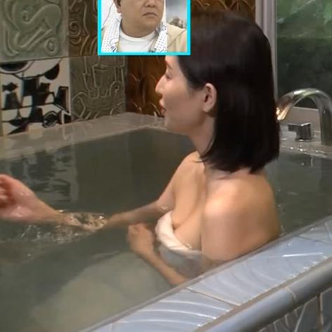 橋本マナミ 地上波での入浴シーンがエロいキャプ・エロ画像5