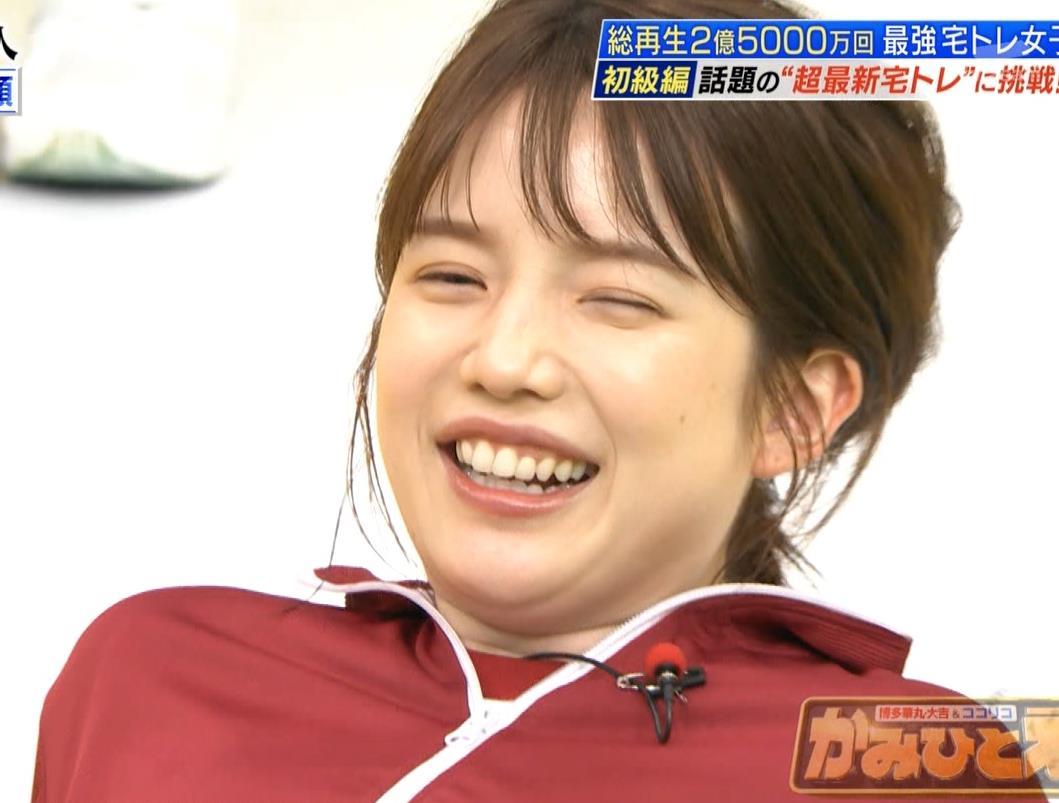 弘中綾香アナ ジャージのエロお尻キャプ・エロ画像12