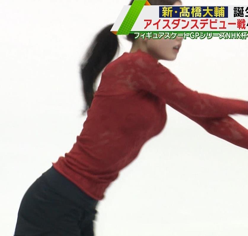 本田真凛 おっぱい強調キャプ・エロ画像2