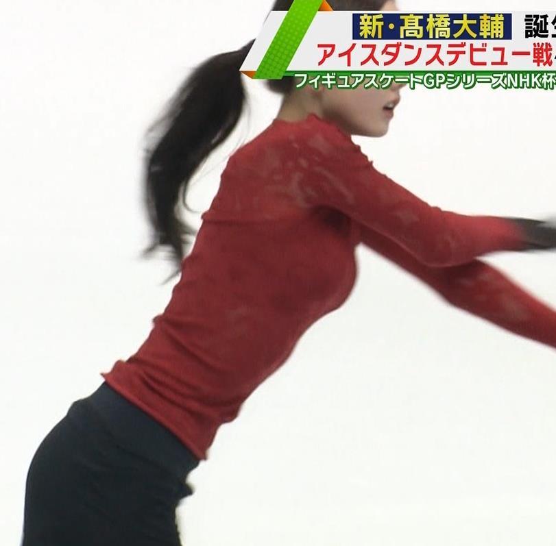 本田真凛 おっぱい強調キャプ・エロ画像3