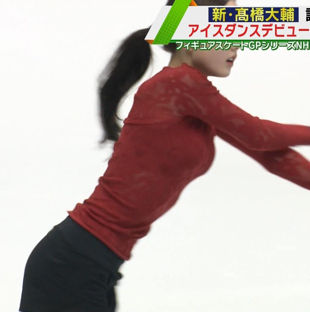 本田真凛 おっぱい強調キャプ・エロ画像6