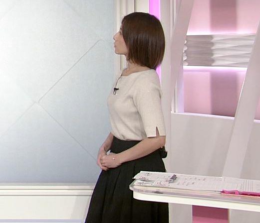 市來玲奈アナ 横乳エロキャプ・エロ画像11