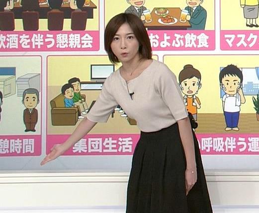 市來玲奈アナ 横乳エロキャプ・エロ画像12
