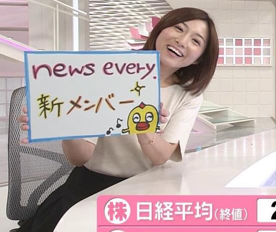 市來玲奈アナ 横乳エロキャプ・エロ画像10