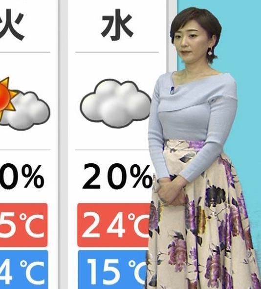 池尻和佳子アナ 福岡の美熟女アナのおっぱいがデカくてエロいキャプ・エロ画像