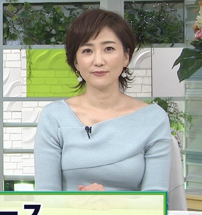 池尻和佳子アナ 福岡の美熟女アナのおっぱいがデカくてエロいキャプ・エロ画像6