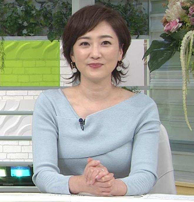 池尻和佳子アナ 福岡の美熟女アナのおっぱいがデカくてエロいキャプ・エロ画像7