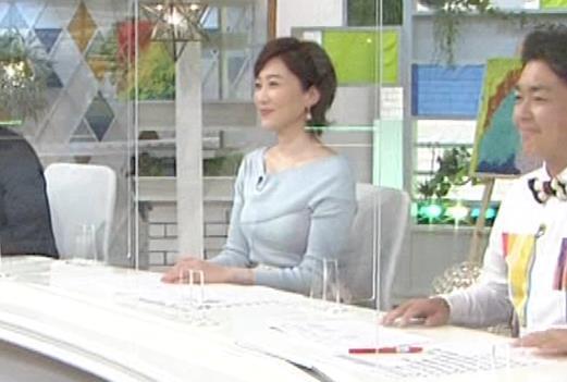 池尻和佳子アナ 福岡の美熟女アナのおっぱいがデカくてエロいキャプ・エロ画像8