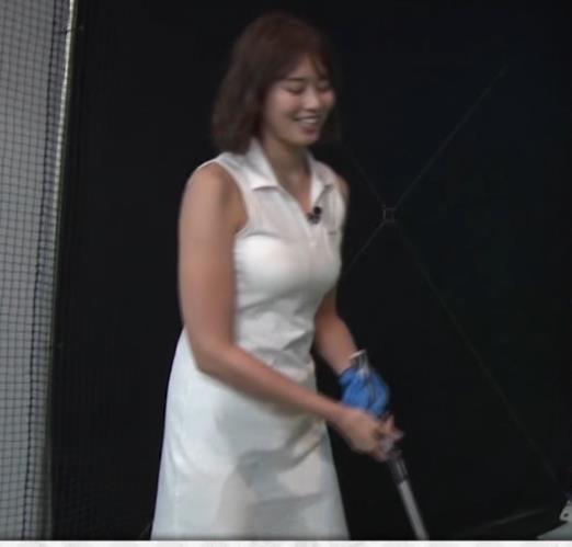 稲村亜美 ゴルフをエロくする人キャプ・エロ画像