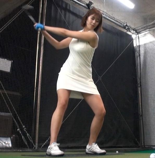 稲村亜美 ゴルフをエロくする人キャプ・エロ画像16
