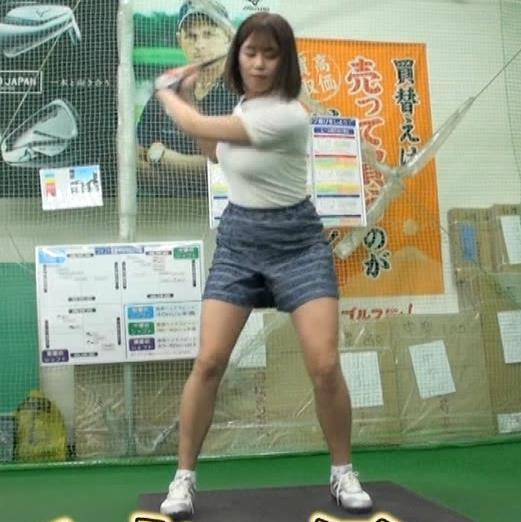 稲村亜美 ゴルフをエロくする人キャプ・エロ画像23