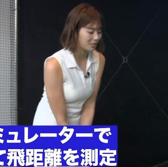 稲村亜美 ゴルフをエロくする人キャプ・エロ画像4
