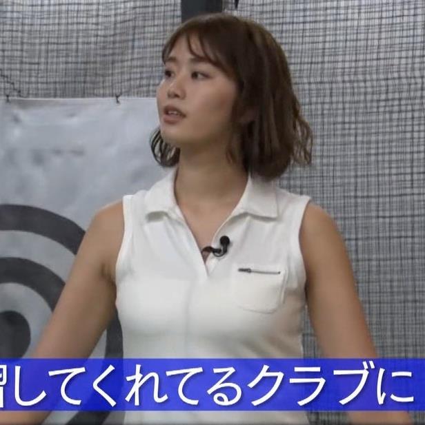 稲村亜美 ゴルフをエロくする人キャプ・エロ画像8
