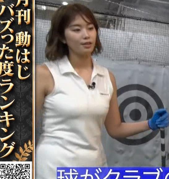 稲村亜美 ゴルフをエロくする人キャプ・エロ画像9