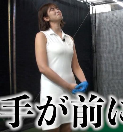 稲村亜美 ゴルフをエロくする人キャプ・エロ画像10